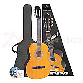 Encore 1/2 Size Kids Classical Guitar Pack