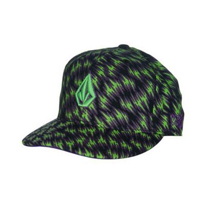 Volcom Leopardz Fitted Cap Size: 7 3/4 inch