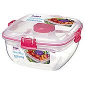 Sistema Pink Salad To Go Box