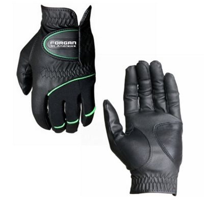 Forgan Premium All Weather Golf Gloves For Right Handed Player Black Xl