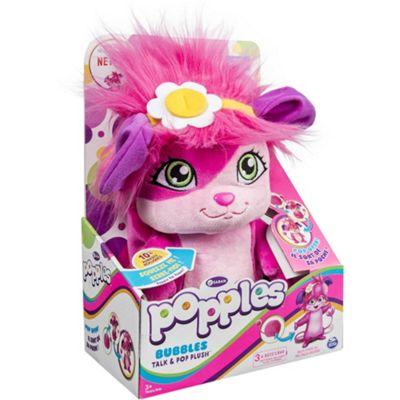 Popples Talk & Pop Plush - Bubbles