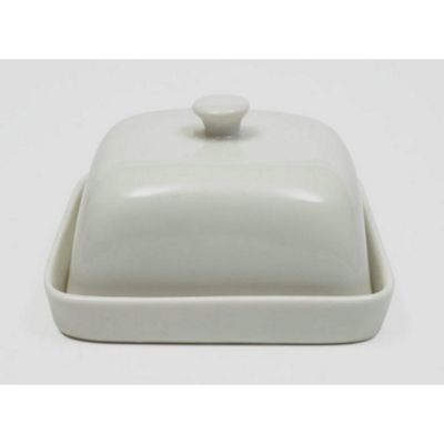 Maxwell Williams White Basics Square Ceramic Covered Butter Dish