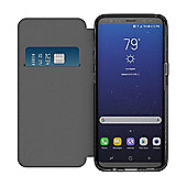 Incipio Slim Polymer NGP Folio for Samsung Galaxy S8 - Clear/Black