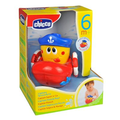 Chicco 21.3 cm Captain Squirt N Go Bath Toy