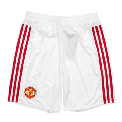 adidas Manchester United 2015/16 Kids Home Replica Short - 15-16 Years