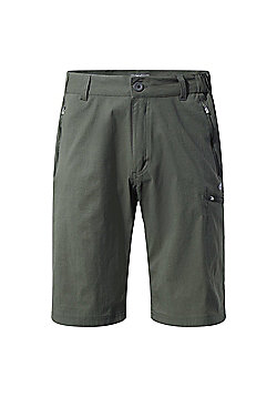 Craghoppers Mens Kiwi Prostretch Long Walking Shorts - Khaki