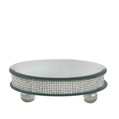Glitz Small Diamante Candle Plate