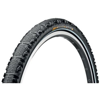 Continental Double Fighter II Rigid 26 x 1.90 Tyre in Black