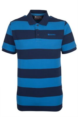 Mountain Warehouse Harrier Mens Striped Polo Shirt ( Size: XXXL )