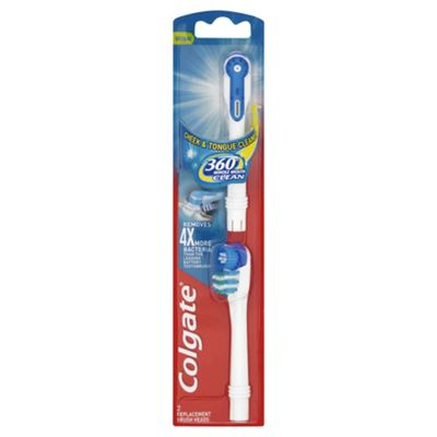 Colgate Toothbrush 360 Battery refills