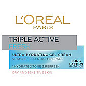 L'Oréal Triple Active Fresh Gel-Cream 50ml