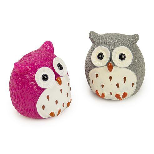 Owl Lip Balm Duo - Strawberry & Choccy Orange