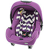 OBaby Group 0+ Infant Car Seat (ZigZag Purple)