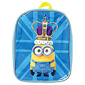 Despicable Me Minions British Crown Backpack