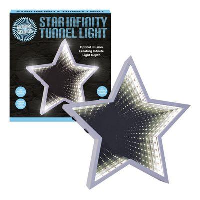 Global Gizmos 60-LED Infinity Mirror Light - Star