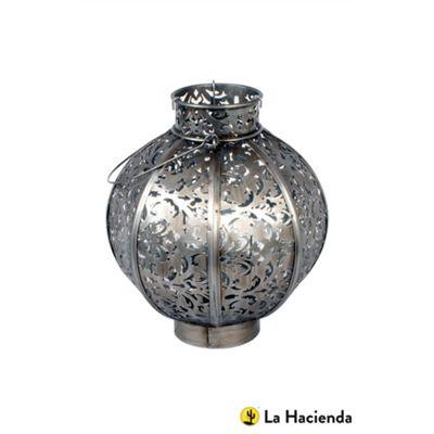 La Hacienda Medium Morrocan Style Globe Lantern