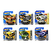 Hot Wheels Set of six Random Cars/Models