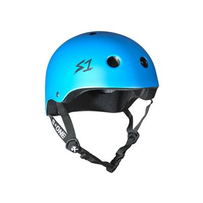 S1 Helmet Company Lifer Helmet - Cyan Matt (Small)