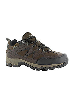 Hi-Tec Mens Altitude Trek Low i Waterproof Shoe - Brown