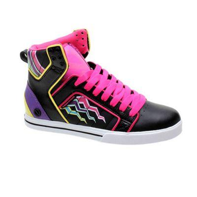 Odessa F.Shock Black/Multi Womens Shoe
