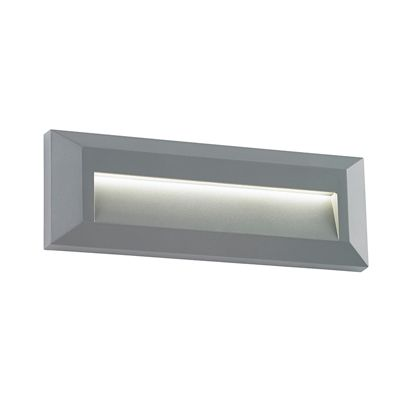 Severus Landscape Indirect 2W Warm White Wall Light Grey Abs Plastic