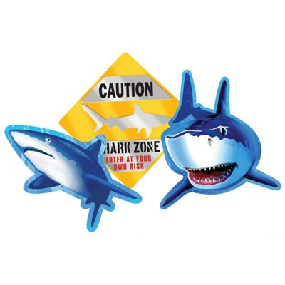 Shark Splash Party Shark Splash Cutout
