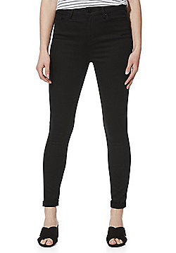 F&F Contour High Rise Super Skinny Jeans with LYCRA® BEAUTY - Black