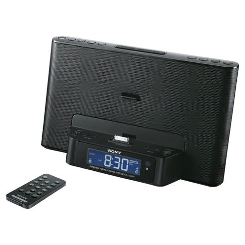Sony ICFDS15IP Black Docking System for iPod / iPhone