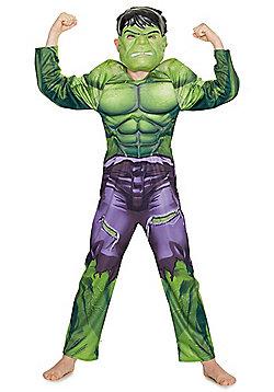 Marvel Avengers Incredible Hulk Halloween Dress-Up Costume - Green