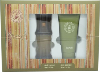 Caribbean Joe For Him by Caribbean Joe Gift Set 50ml EDT + 100ml Aftershave Balm For Men