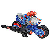 Marvel Ultimate Spider-Man vs. The Sinister Six Blast N' Go Racers - Spider Cycle