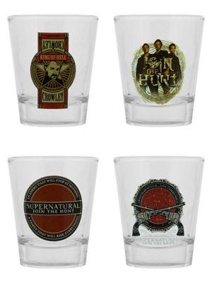 Supernatural Set - Set Of 4 Shot Glasses