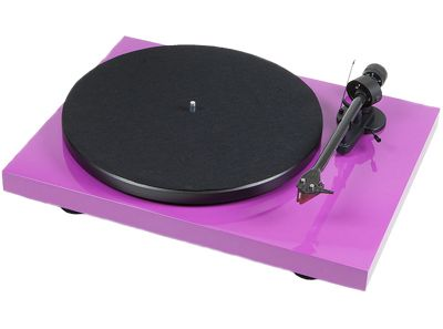 Project Debut Carbon Turntable With Ortofon 2M Red Cartridge (Gloss Purple)