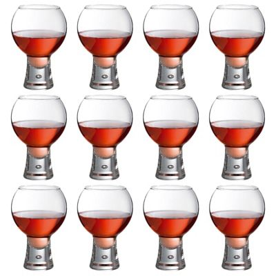 Durobor Alternato Short Stem Wine Glass - 410ml - Pack of 12 Glasses