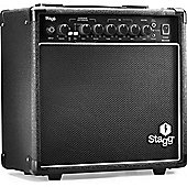 15W Guitar Amplifier with Digital Reverb