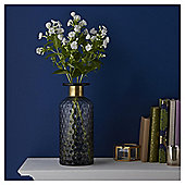 Fox & Ivy Large Diamond Cut Vase