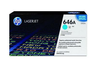 HP 646A (CF031A) Cyan Original LaserJet Toner Cartridge CF031A