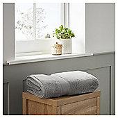 Fox & Ivy Supremely Soft Silver Bath Towel