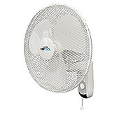 "Lloytron 16"" 50W Stay Cool Wall Fan"