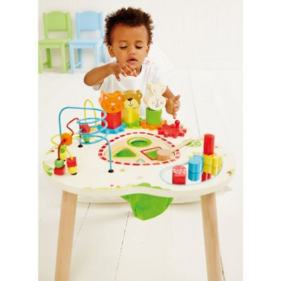 ELC Wooden Activity Table