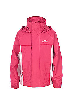 Trespass Girls Sooki Waterproof Jacket - Pink