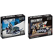 Call Of Duty Mountain Recon And Drone Attack Mega Blok's Bundle 2 Items