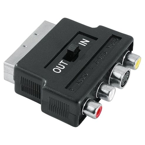 Hama S-VHS Socket Video Adapter to Scart Plug