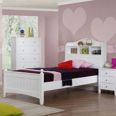 Alexia Single Storage Bed - White