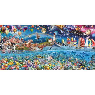 Life - Panoramic - 3000pc Puzzle