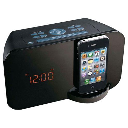 Technika CR 21201 Reading Clock Dock Radio