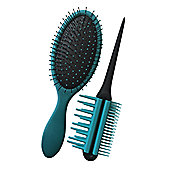 Magic Brush by Jerome Alexander in Teal