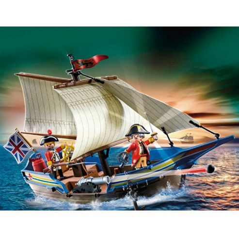 Playmobil 5140 Redcoat Battle Ship