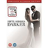 Fifty Shades Darker Exclusive Bonus 2Disc DVD