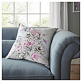 FOX & IVY Jardin Oversized  Floral Cushion